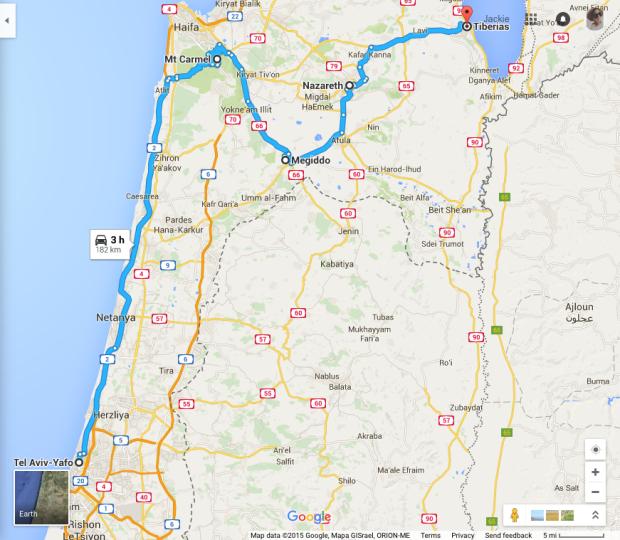 map day three